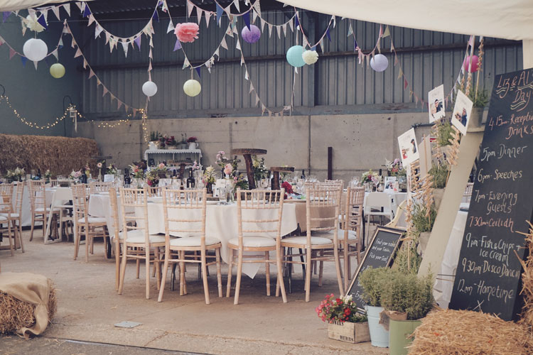 September Barn Wedding