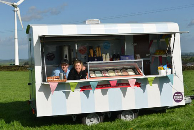 yummy yorkshire hire ice cream trailer
