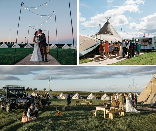 A Midsummer Tipi Wedding